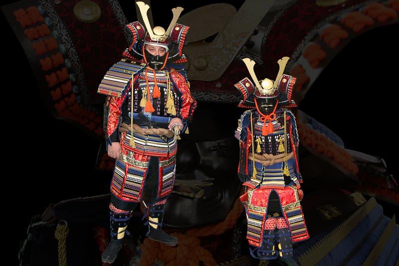 Armure japonaise de samouraï XVIᵉ - XVIIIᵉ siècles