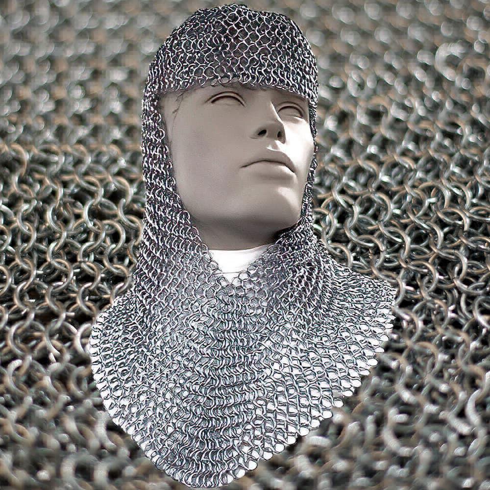 Camail d'armure médiévale