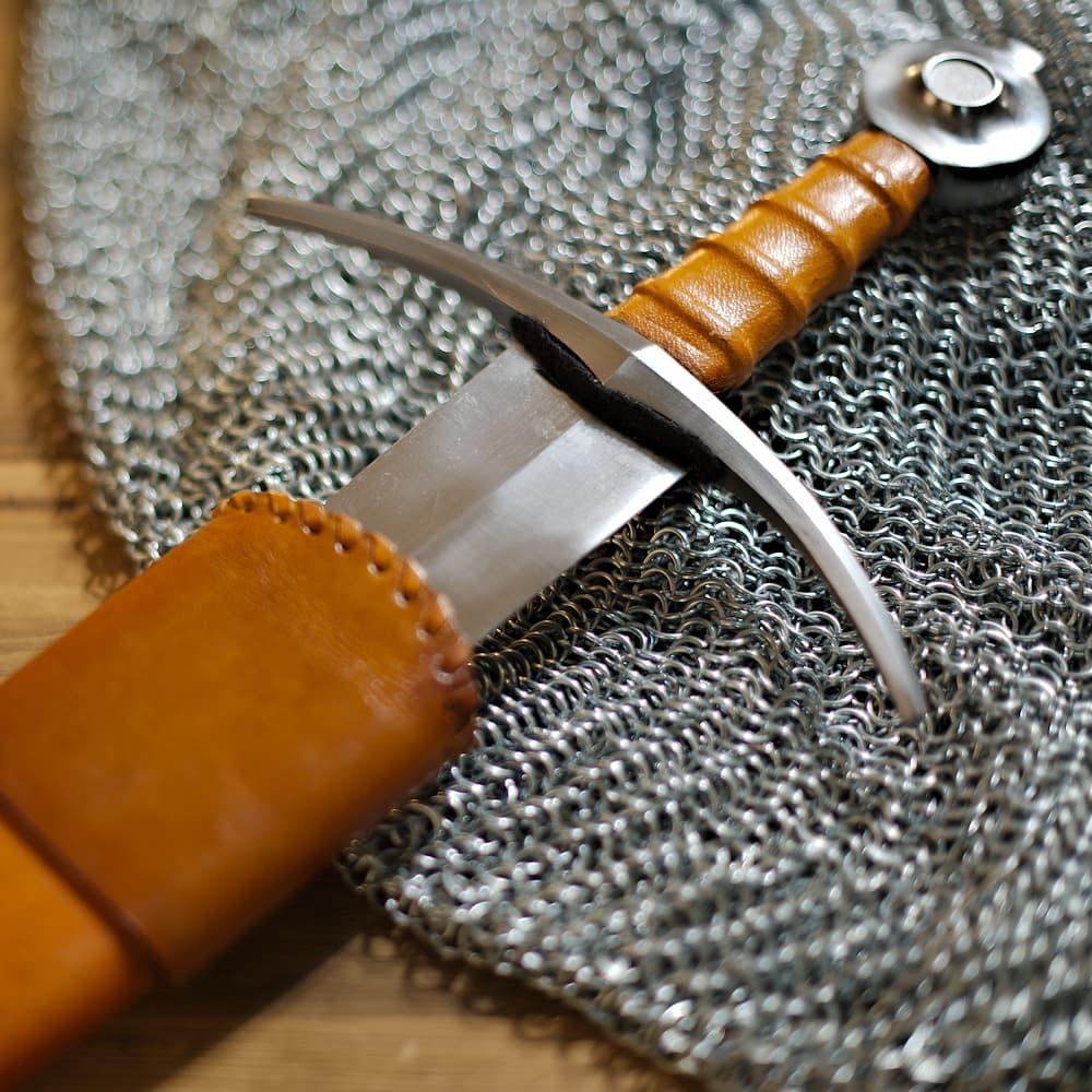 Épée d'estoc forgée « Terre de Sienne »