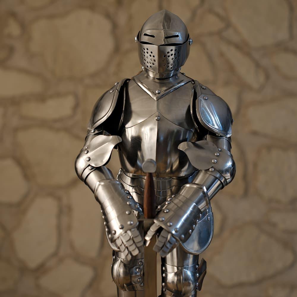 Armure médiévale française XVᵉ - XVIᵉ siècles (miniature)