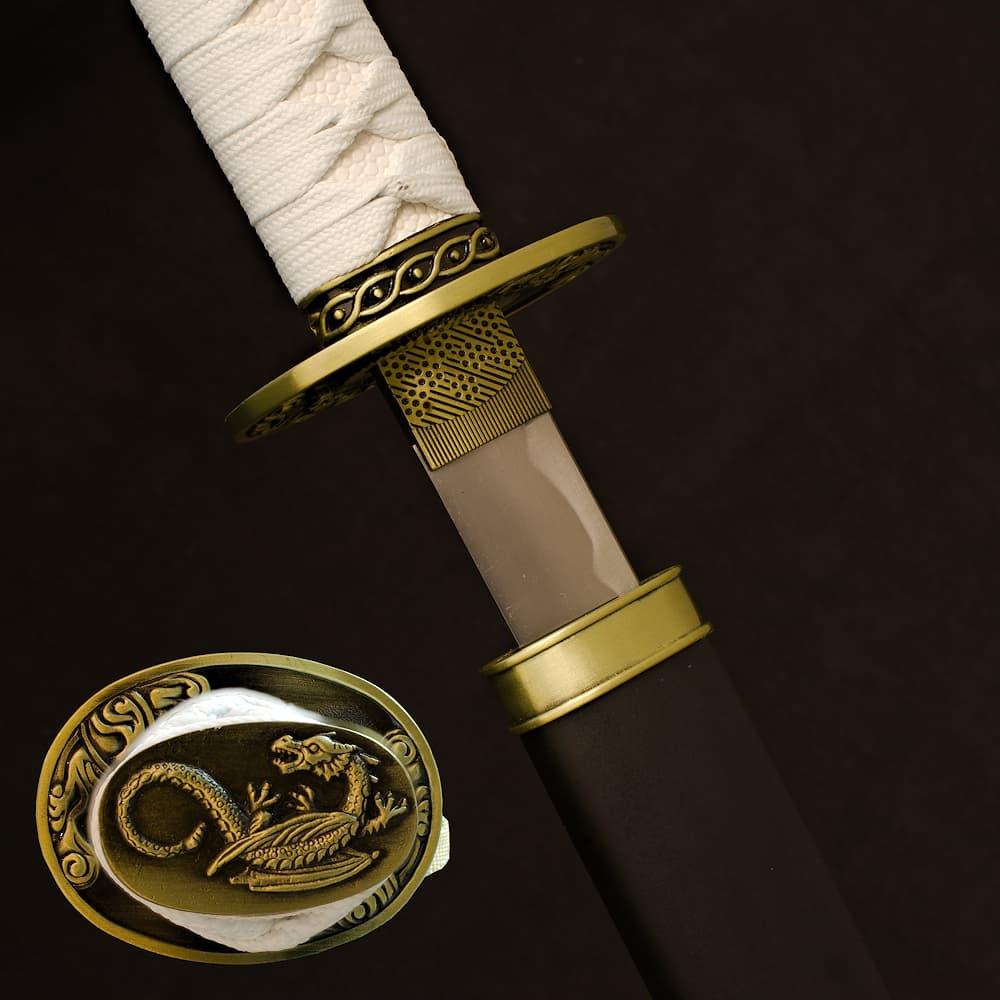 Katana de décoration « Dragon des secrets »