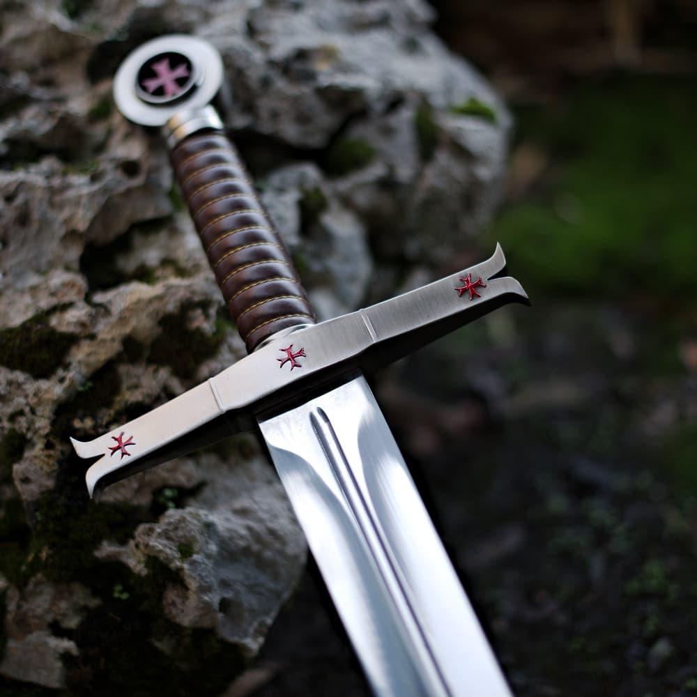 Epée templière de décoration